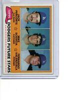 1981 Topps #302 Fernando Valenzuela & Mike Scoiscia Rookie Card LA Dodgers