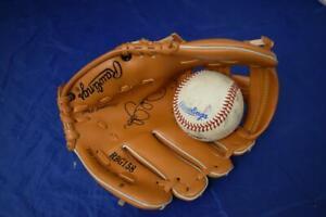 Rawlings Baseball Mitt & Ball