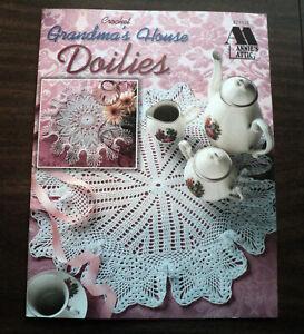 Annie's Attic Crochet Grandma's House Doilies Pattern Booklet
