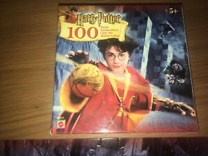 Harry Potter Snitch Ball Quidditch. 100 piece Jigsaw Puzzle. 2002.