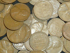 USA Wheat Cents Kilo Parcel Bulk Lot 300+ Coins Issued 1909-58 circulated