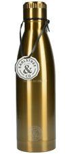 Earlstree & Co 500ml Edelstahl & Messing Wasserflasche / Getränke Flasche