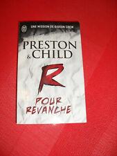 Preston & child -  R pour Revanche   - F poche  Thriller