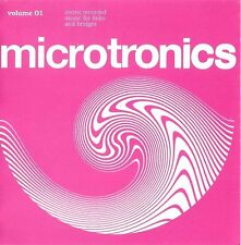 "BROADCAST Microtronics Volume 1 Stereo Recorded Music For Links And Bridge 3"" CD"