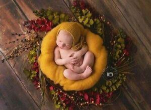 Soft Fluffy Wool Fleece Newborn Blanket Basket Filler Stuffer Photography Props