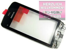 ORIGINALE Nokia c5-03/c5-06 - Front Cover + Touch Screen Nero Nuovo