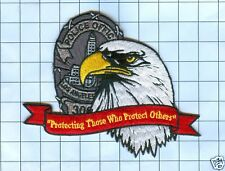 Police Patch -  California - Protecting Those Who Protect Others