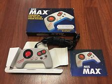 Nintendo NES Max Controller - Complete In Box CIB - Tested & Works - Ships Fast!