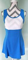 TAIL Womens Blue White Tennis Athletic Skirt Dress Size M Medium