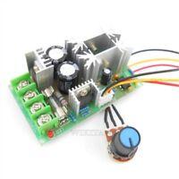 Dc Motor Speed Control 20A Pwm Ler 12V 24V 36V 48V With Potentiometer Knob vs