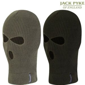 JACK PYKE 3 HOLE BALACLAVA MENS ARMY SAS HEADWEAR FACE DISGUISE HUNTING SECURITY