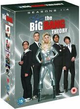 Big Bang Theory - Season 1-4 Complete DVD (2011) Johnny Galecki New