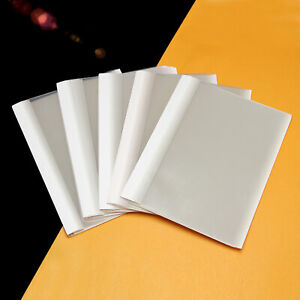 10 pcs A4 1mm Hot-melt Book Cover Surface Protector EVA Film Binding 1-10pages