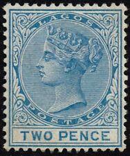 Lagos 1882 2d. blue, MH (SG18)