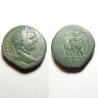 coin Septimius Severus, 193 – 211. Sestertius