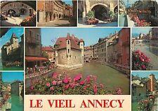 Le Viel Annecy Le Palais  Le Thiou Canal France Postcard