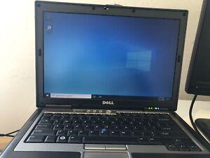 Dell Latitude D630 Laptop  Core 2 Duo 4GB WiFi DVD Windows 10 NotebooK 80gb HD