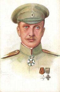 WWI Russian General Nikolai Lokhvitsky Portrait,Postcard
