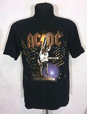 Ac/Dc Vintage T-Shirt Tour 2000 Rock Pop Concert Rare Stiff Upper Lip All Sport
