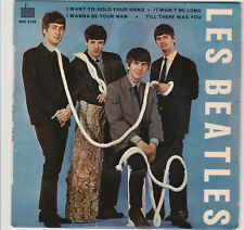"""The Beatles """" I want to hold your hand  """" French Ep 45 - Odeon Soe 3745"""