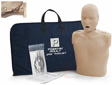 Prestan Adult CPR Training Manikin MedTone w JAW THRUST & Monitor PP-JTM-100M-MS