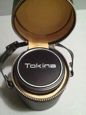 Tokina Wide-Auto 28mm 2.8 Nikon con custodia di pelle