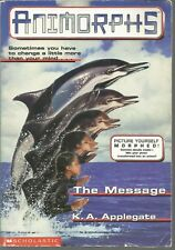 The Message Animorphs #4 K A Applegate PB 1996