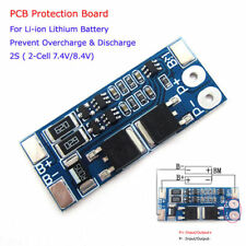 2S 8A 7.4V 8.4V w/Balance Li-ion Lithium 18650 Battery BMS Protection PCB Board
