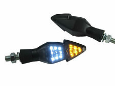 Universal Integrated LED Indicators DRL Daytime Running Lights Motorcycle & Quad