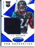 T.J. YELDON - 2015 Certified New Generation BLUE RC Jersey /99 - Jaguars RC