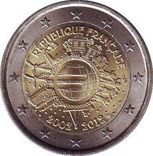 2 euros 10 ans de l'euro  2012 UNC