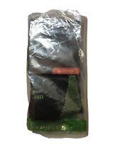 NIKE ELITE Lightweight No-Show Tab Running Socks SX4952-072 (6-7.5) Black / Volt