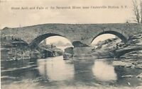 CENTERVILLE STATION NY – Stone Arch and Falls of Neversink River–Woodridge-1908