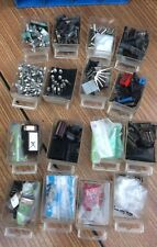 Job Lot Vintage Capacotors Etc Radio Electrical Spares In 16 Drawer Storage (1)