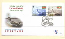 Suriname 1998 SG 1785-6 Ferry on FDC Ships