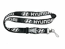 Hyundai Keychain Lanyard (Black)