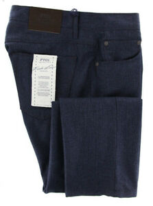 New $475 PT Pantaloni Torino Navy Blue Pants - Slim - 35/51 - (C6P59GVB800340)