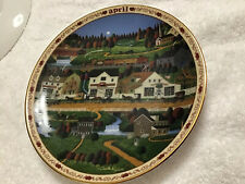 Charles Wysocki Days To Remember Plate April Yankee Wink Hollow