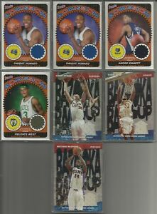 2004-05 Topps Bazooka Game/Event Worn Used Jersey 7 Cards - Dwight Howard & More
