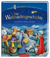 Weihnachtsgeschichte nach Matthäus und Lukas Ab 2 Jahre Bilderbuch + BONUS