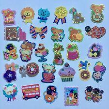 50 KAWAII STICKERS FLAKES LOT Cute Sticker Sanrio San-x Crux Mindwave