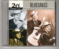 (HK23) The Best of Bluegrass, The Millennium Collection - 2002 CD