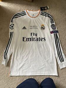 Adidas 2014 UCL Final Real Madrid Jersey Ronaldo #7 Size Large