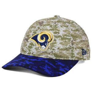 Los Angeles Rams New Era NFL Women's Salute to Service 9TWENTY Camo Cap Hat LA