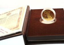 Canada 1992 $100 14k gold proof coin City of Montreal 350th Anniversary
