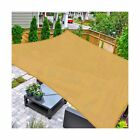 Sun Shade Sail Square 10x10 UV Block Canopy Patio Lawn Outdoor Activities Sand