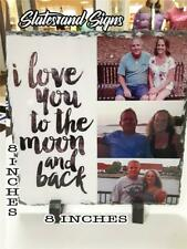 Photo Picture Slate 8x8 Your My Frame perfect wedding memorial in memory gift