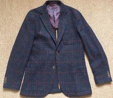 Holland Esquire Tweed Blazer Jacket Uk40/Medium entièrement neuf sans étiquette
