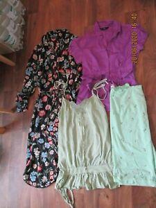 LADIES SUMMER CLOTHES BUNDLE  SIZE 12- TOPSHOP,KOOKAI