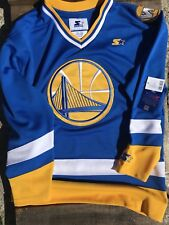 Nuevo TALLA L Starter X Urban Outfitters Golden State Warriors Camiseta Hockey